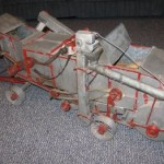 Grandpa Mattsons model threshing machine